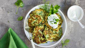 gluten free and dairy free recipes zucchini fritters cycle syncing recipes