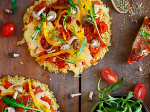 Balance Estrogen Dominance with this Cauliflower Pizza Crust Recipe