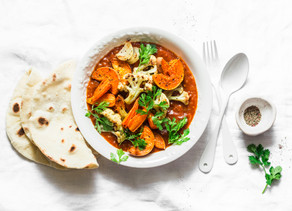 Pumpkin Coconut Curry | Luteal Phase Recipe