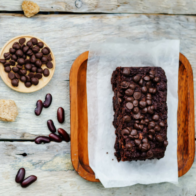 guilt-free dark chocolate brownie recipe