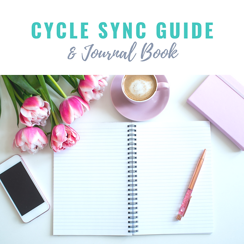 Cycle Sync Guide & Journal Book
