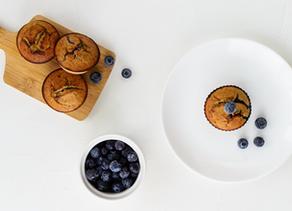 Delicious Coconut Blueberry Zucchini Muffin Recipe to Elevate Your Mood