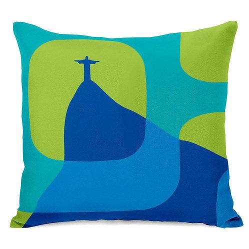 Almofada Cristo Ipanema Azul