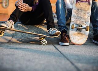 Skaten im Bushy Park
