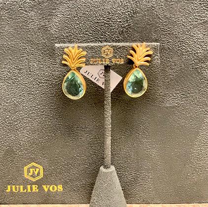 Julie Vos Pineapple Earring