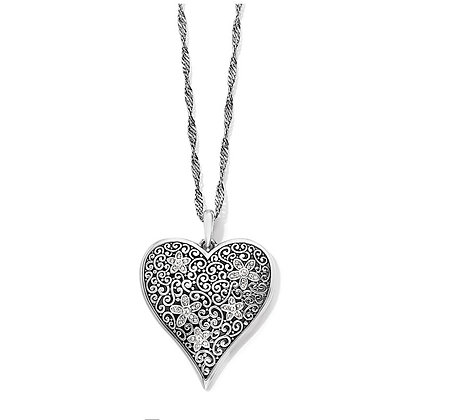 Baroness Fiori Heart Convertible Necklace
