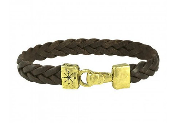 Unified Front leather bracelet