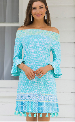 Coastal Cottage Coverluxe Smocked Dress