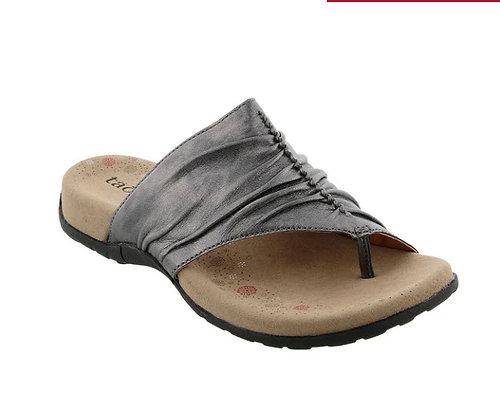 Taos Footwear Gift Sandal in Pewter