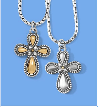 Brighton Grace Cross Necklace