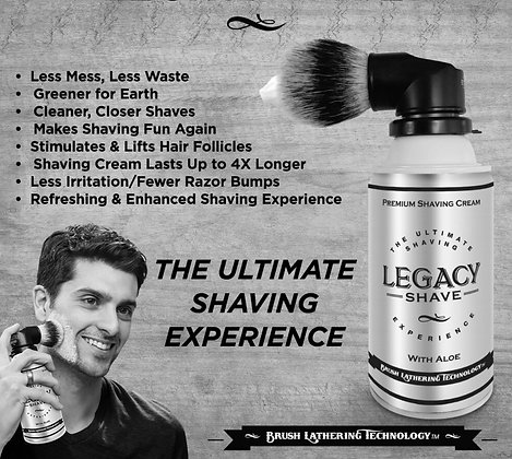 Ultimate Shave with brush