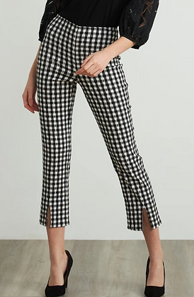 Ribkoff Gingham Pants
