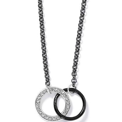 BRIGHTON Neptune's Rings Night Drop Necklace