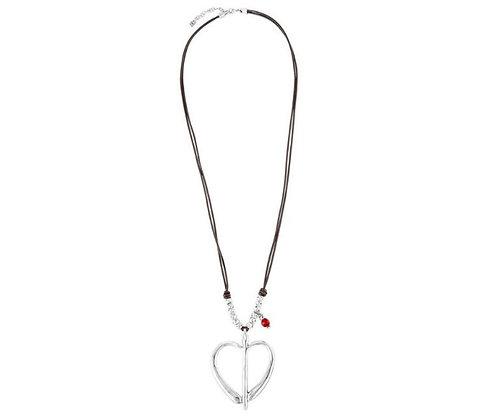 Uno de 50 Free Hearts long necklace