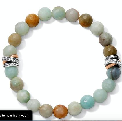Brighton Neptune's Rings Jasper Stretch Bracelet