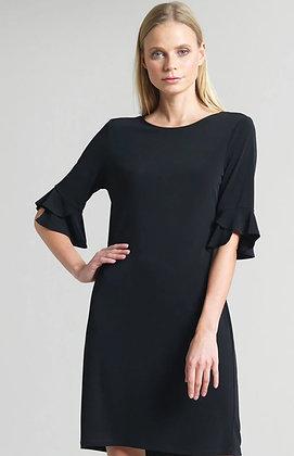 Soft knit Black dress
