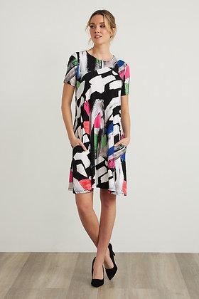Ribkoff Abstract Print Dress