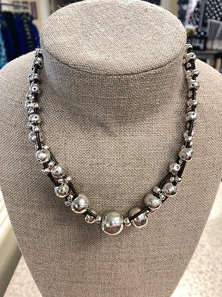 Uno de 50 Flighty Silver Necklace