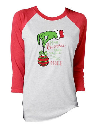 Maybe Christmas means more tee