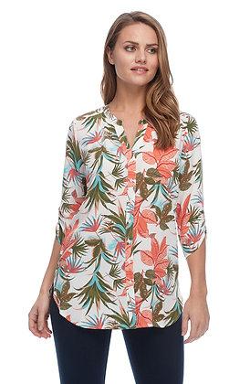 FDJ Tropical Print Blouse