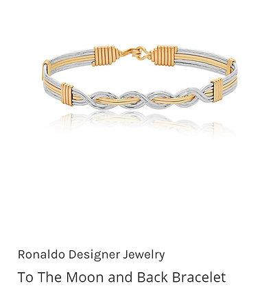 "Ronaldo ""To The Moon and Back""  Bracelet"