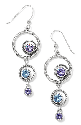 BRIGHTON Halo Radiance French Wire Earrings