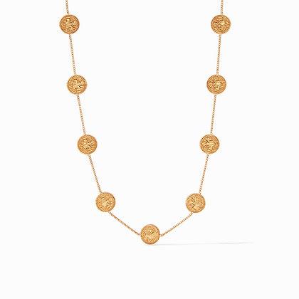 Julie Vos Coin Demi Station Necklace