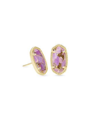 Kendra Scott Ellie earring lilac