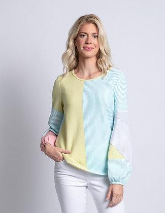 Pastel Stripe Pullover
