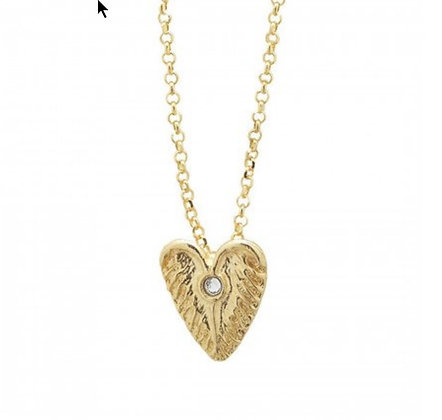 Waxing Poetic Loving Heart necklace