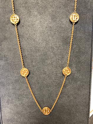Julie Vos Paris Station Necklace