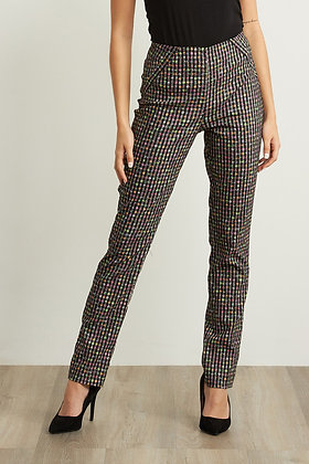 Ribkoff  Multi-color Checkered Pants