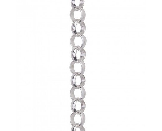 Waxing Poetic  Small Rolo Chain - Sterling Silver - 18""