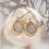Thumbnail: Waxing Poetic Kristal Teardrop Earrings - Brass