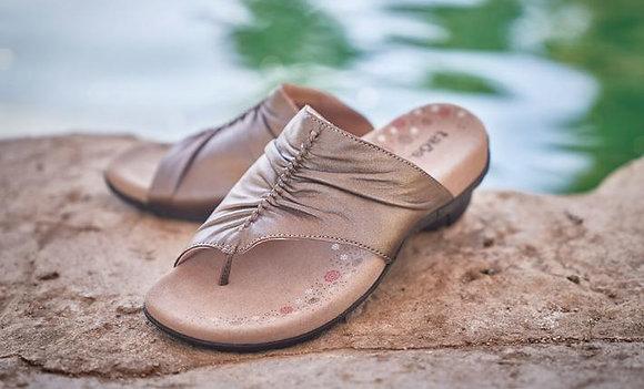 Taos Gift Sandal Cocoa Metallic