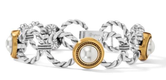 BRIGHTON Meridian Golden Pearl Bracelet