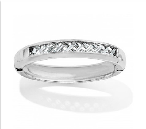 Brighton Love Cage hinged bangle
