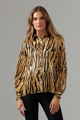 Joseph Ribkoff tiger blouse