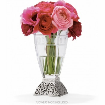 BRIGHTON Lacie Daisy Glass Vase