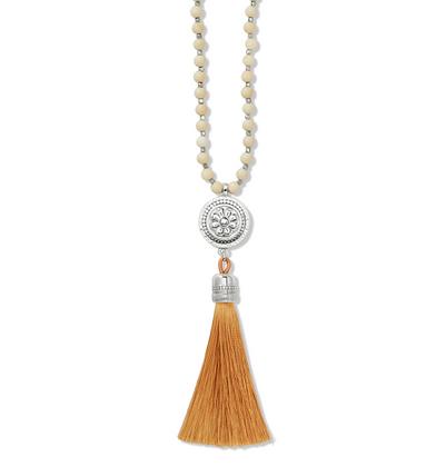 BRIGHTON Marrakesh Neutral Tassel Necklace