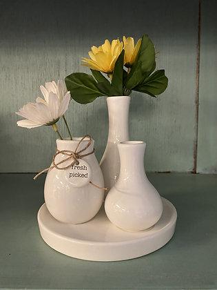 Fresh picked multi vase