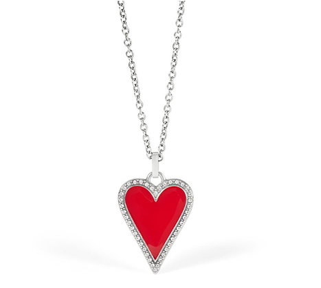 Brighton Dazzling Heart Necklace