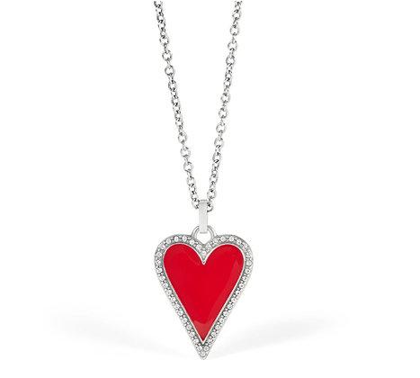 Brighton Dazzling Heart Necklace