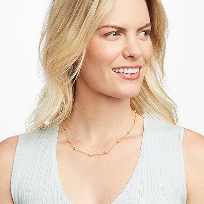 Julie Vos Calypso Pearl Delicate Necklace