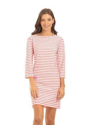 Cabana Life Geo Stripe Shift Dress