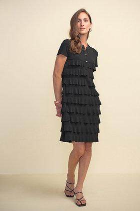 Joseph Ribkoff Black Ruffle Dress