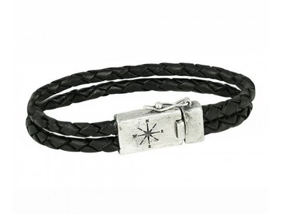 Two strand leather braclet