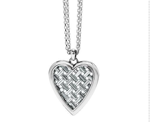 Brighton Love Cage Heart Convertible Necklace