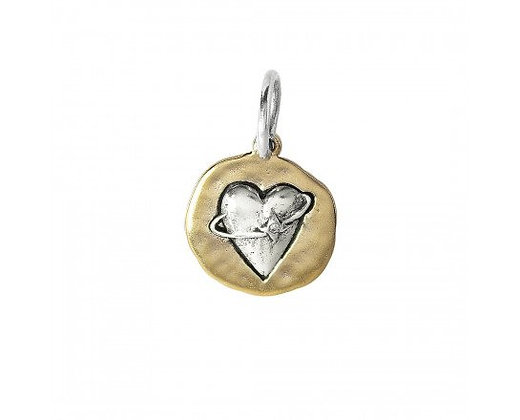 "Waxing Poetic ""The Beginning of Love"" charm"