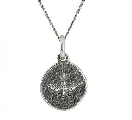 Peacebringer sterling silver necklace